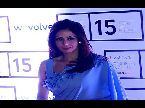 Sridevi at Lakme Fashion Week | Day 1