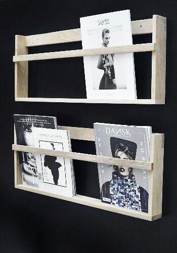 Magazinboard aus Holz