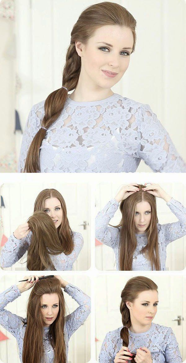 Stylish Ponytail Hairstyle Tutorial