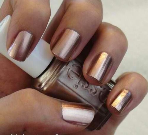 Essie 'Penny Talk' (I don't normally pin this type of stuff, but this is gorgeous, and would great with my copper band, I think.)