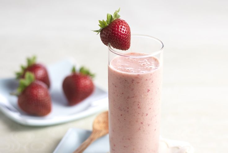 Chocolate Strawberry Smoothie - Guilt-free and good-for-you come to mind when making this sweet strawberry smoothie. Thanks to a protein boost from almond butter and protein powder, this satisfying berry blend will leave you feeling energized and ready to tackle the day!