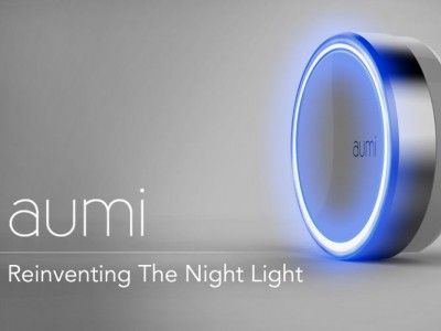Миниатюрный ночник Aumi загорится при наступлении темноты