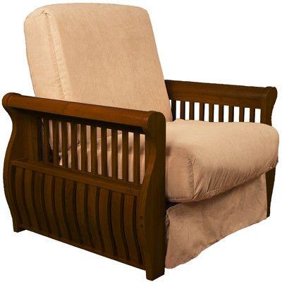 Epic Furnishings LLC Concord Futon Chair Upholstery: