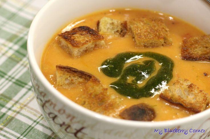 Zupa pomidorowa z mascarpone - My Blueberry Corner