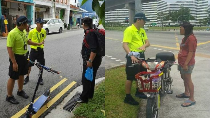 A total of 20 electric scooters have been seized after their users were caught riding on the road, the Land Transport Authority says.