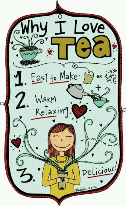 Why i love tea: comfort in a cup!