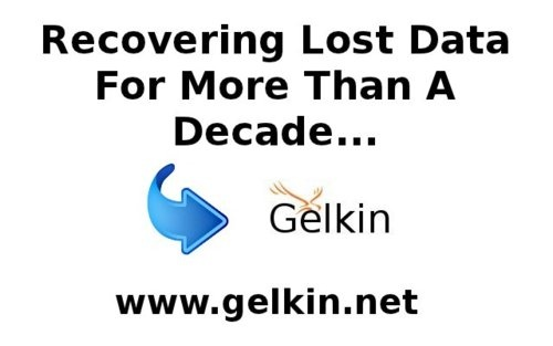 Recovering Lost Data For More Than A Decade; Gelkin.net