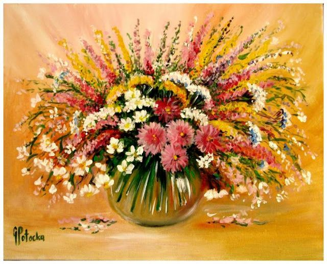 Cottonara: Kwiaty z łąki