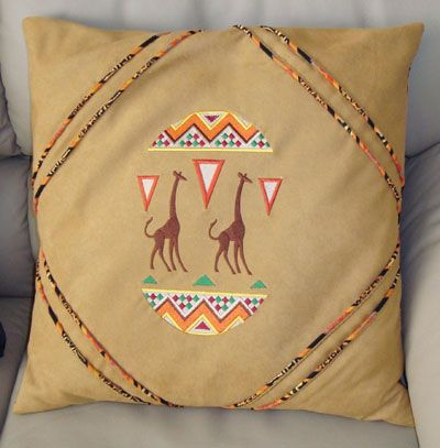 I Dream of Africa Pillows image1