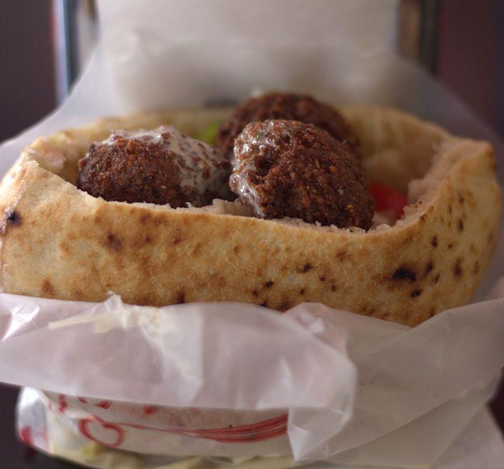 Falafel at Falafel Gabay,Bograshov street