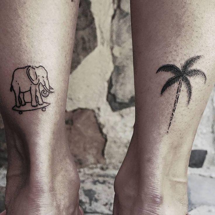 Tattoo by ZM Free Spirit Artist http://www.manonzampieri.com  Line - Palm - Skate - Travel - Small tattoo -  Be always like kids... don't be so serious !   #creativemadness #freespirit