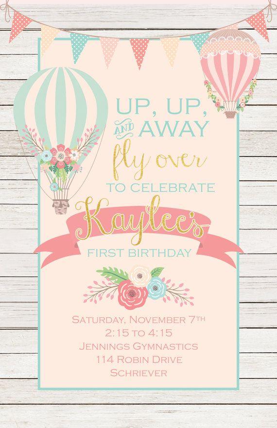Best 25+ Balloon invitation ideas on Pinterest | Diy birthday ...