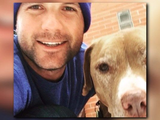 An adorable old dog with cancer was adopted but all people want to talk about is the guy who adopted him.