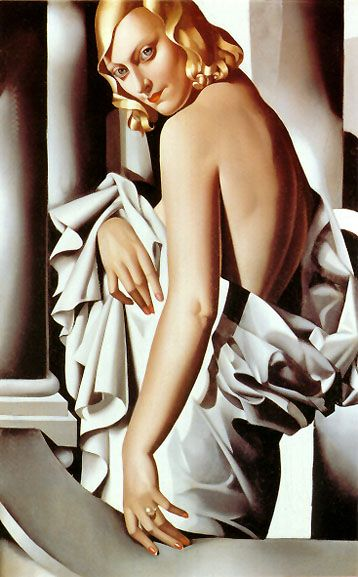 Portrait of Marjorie Ferry, ca.1927 - Tamara De Lempicka: The Artists, De Marjorie, American Art, Tamara De Lempicka, Delempicka, Marjorie Ferris, Portraits, Artdeco, Art Deco