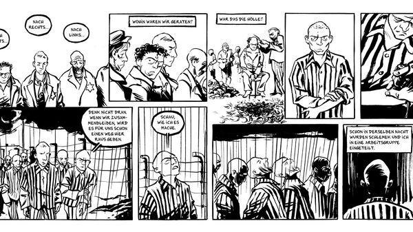"""La Shoah a été une source d'inspiration et un exutoire pour de nombreux artistes du 9e art. Dans le cadre de l'exposition """"Shoah et bande dessinée"""" au Mémorial de la Shoah à Paris, nous revenons sur les travaux incontournables en bande dessinée qui se sont engagés à représenter l'horreur."""