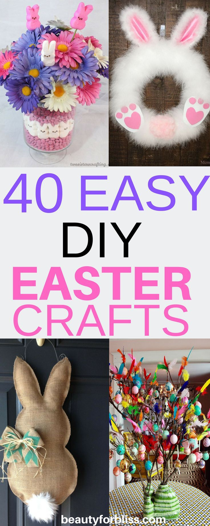 40 Easter Crafts For Adults Best Of 2019 Easy Easter Crafts