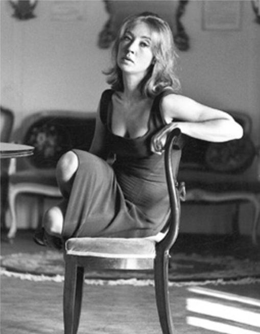 Una stupenda Oriana nel servizio di Ugo Mulas (2) - Foto - Oriana Fallaci