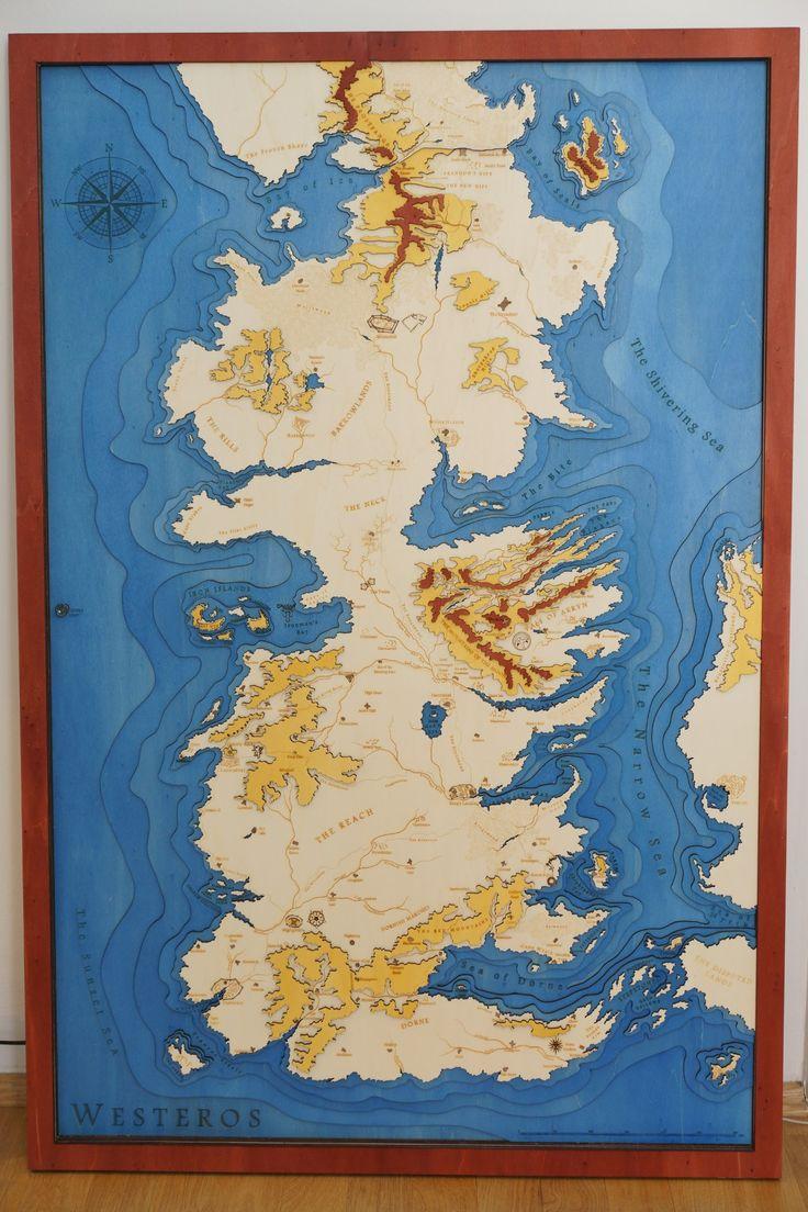 Topographic map of Westeros - Album on Imgur