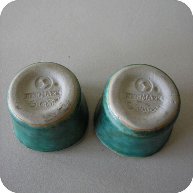 K2081 Saxbo, Denmark, Edith Sonne Bruun, stoneware candlesticks, candleholders | Boas Antik - glas, keramik och kuriosa
