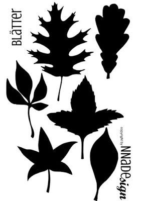 Herbstblätter Freebie Plotter Silhouette datei