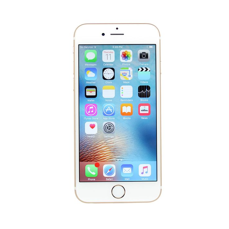 Appleiphone6s a1633 64gb for att gold silver rose gray