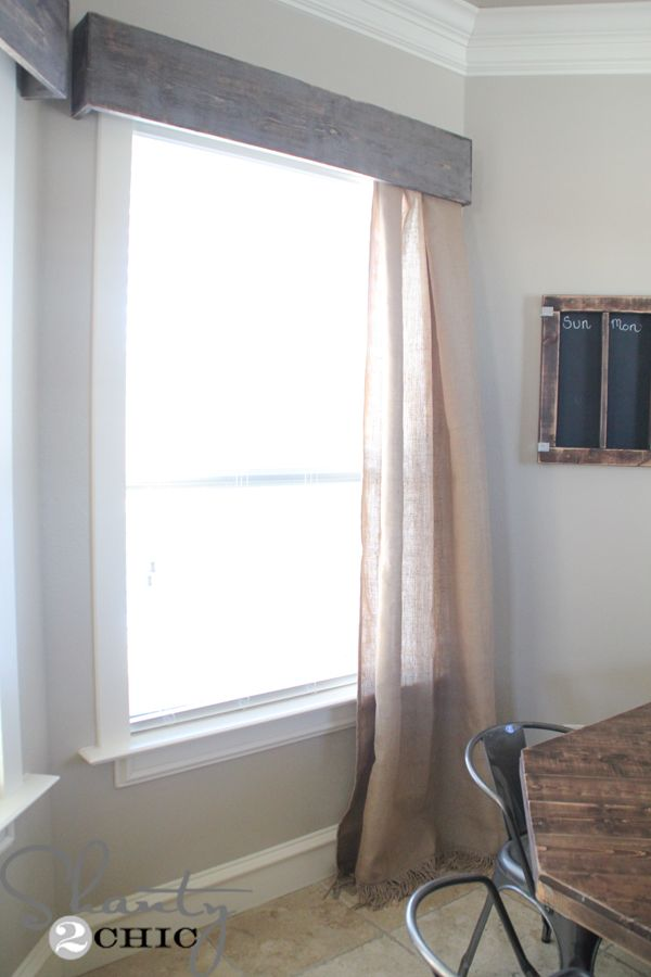 25 Best Ideas About Wooden Valance On Pinterest Window