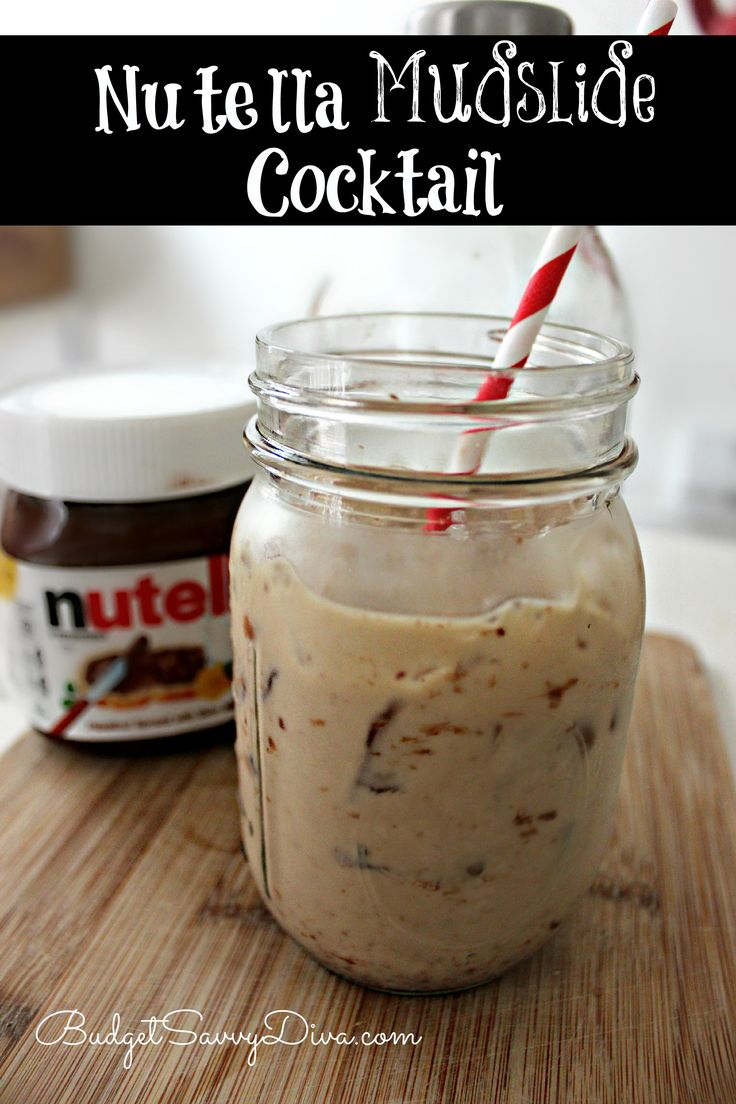 One of the best cocktail recipes around. A MUST for Nutella lovers