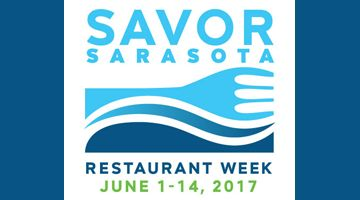 "Each June, dozens of local restauranteurs in Sarasota join forces, thanks to the organization of Visit Sarasota County, designing specialty lunch and dinner menus which provide visitors and residents alike the opportunity to truly ""Savor Sarasota."" Get ready for Savor Sarasota Restaurant Week(s!) to return, June 1-14, 2017."