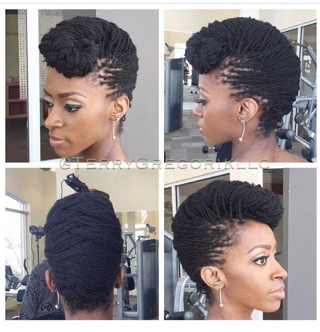 Superb 1000 Ideas About Sisterlocks On Pinterest Locs Dreadlocks And Short Hairstyles Gunalazisus