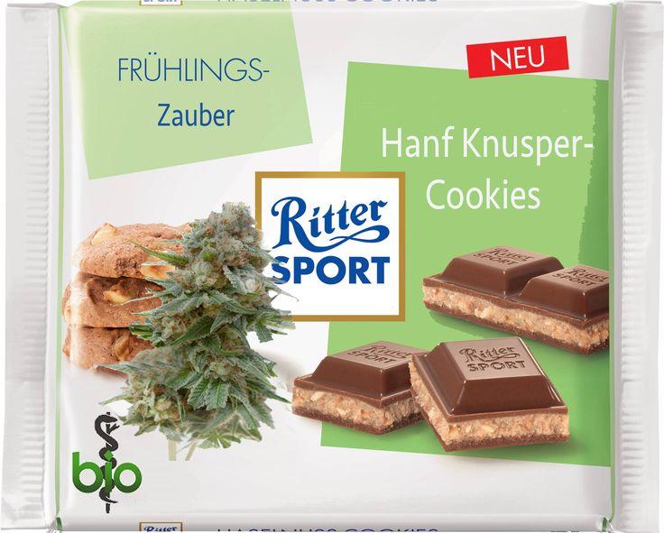 RITTER SPORT Fake Sorte Hanf Knusper-Cookies