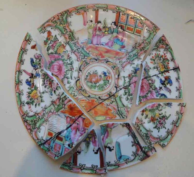 7 best how to repair broken china dishes images on for Diy ceramic plates