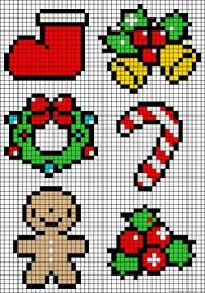 christmas beading patterns - Buscar con Google