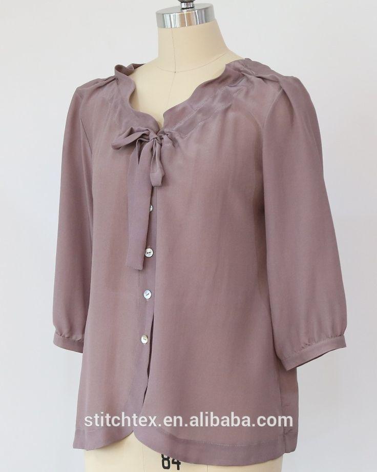 fashion raw silk shirt, 3/4 sleeve blouse | Buy Now fashion raw silk shirt, 3/4 sleeve blouse and get big discounts | List Manufacturers of  fashion raw silk shirt, 3/4 sleeve blouse | fashion raw silk shirt, 3/4 sleeve blouseCheap Manufacturers  # #BestProduct
