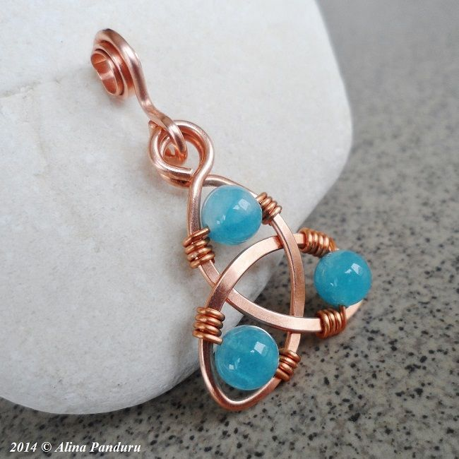 Celtic Knot Earrings and Pendants Tutorial by DALINA | JewelryLessons.com