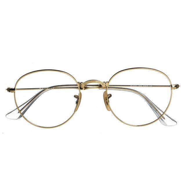 lunette de vue ronde or ray ban