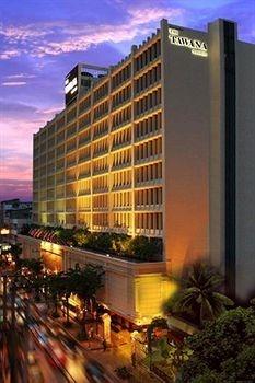 The Tawana Hotel in Bangkok near patpong night market..