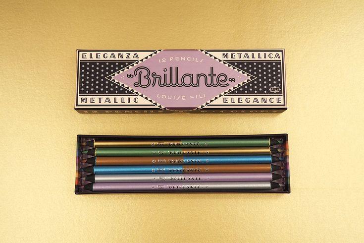 Vibrant Italian-Inspired Packaging for Louise Fili Brillante Pencils — The Dieline - Branding & Packaging Design