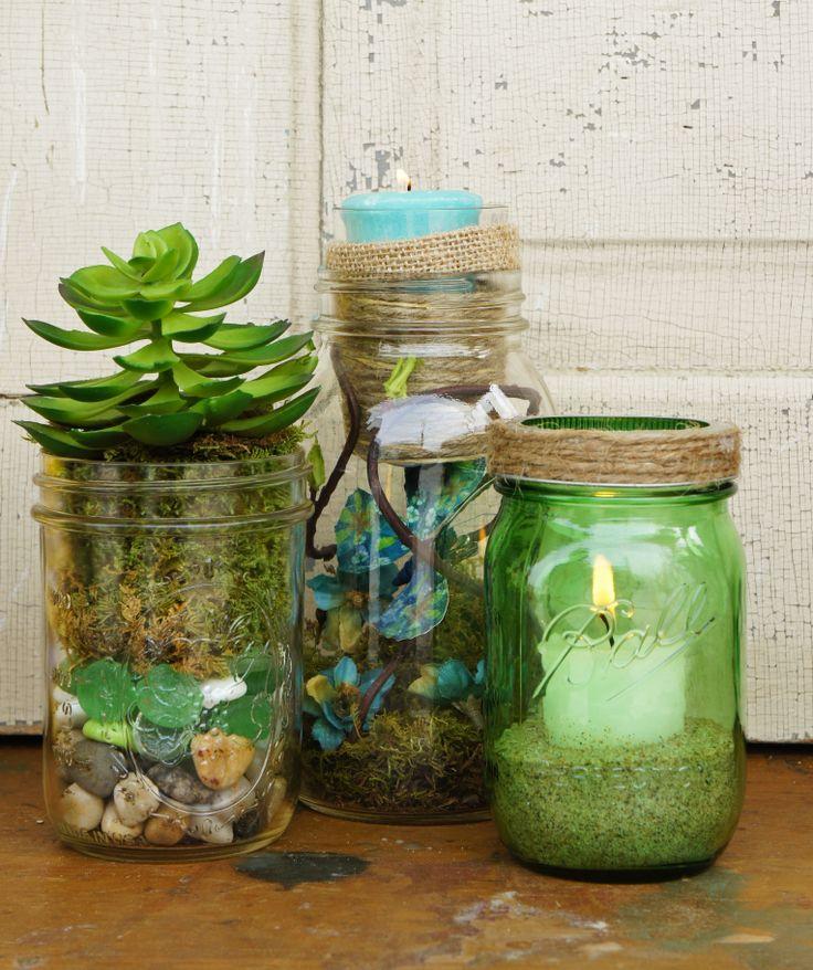 Canning Jar Christmas Crafts