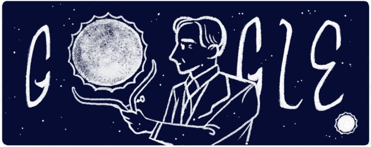 S. Chandrasekhar Google doodle honors astrophysicist who won a Nobel Prize for his study of the stars