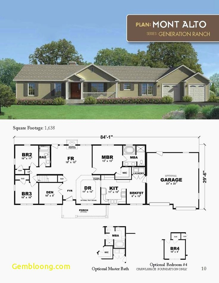 Ranch Home Plans With Cost To Build Courtyard House Plans Ranch Style House Plans Ranch House Plans