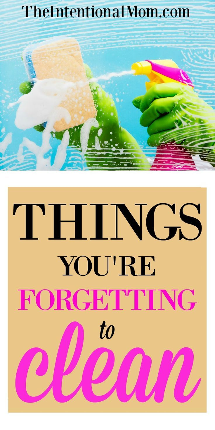Cleaning is something that is part of any healthy home. But, there are things that get pretty grimy that you might not think about. Are you forgetting any?