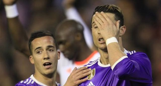 #Fútbol: El Real Madrid cae en Valencia y abre la puerta a perseguidores