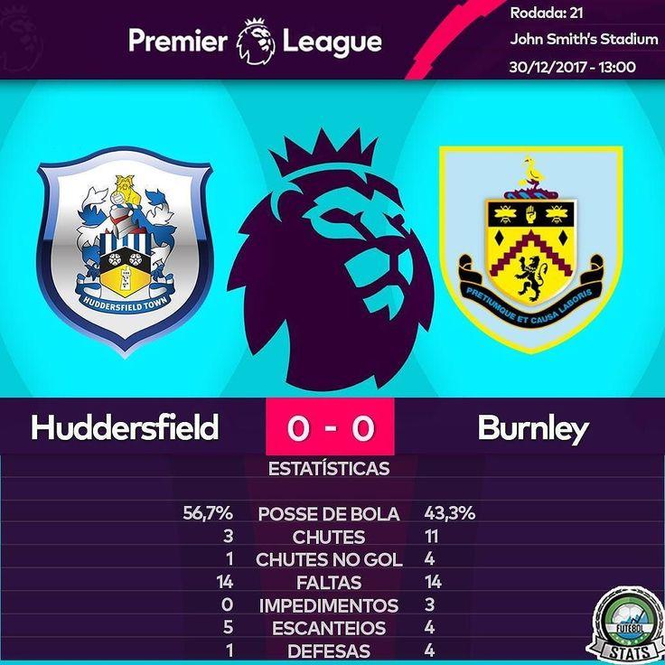 Huddersfield e Burnley não saem do 0 a 0 e continuam nas mesmas posições que estavam antes da rodada começar.  11º Huddersfield  7º Burnley   Quer comprar produtos personalizado? Acesse: @meupresenteloja  Parceiros:  @futeba_br  #premierleague #futebol #soccer #tottenham #chelsea #chelseafc #manchestercity #mancity #manchesterunited #manuntd #watford #swansea #bournemouth #burnley #westbrom #brighton #liverpool #crystalpalace #southampton #westham #stokecity #arsenal #huddersfieldtown…