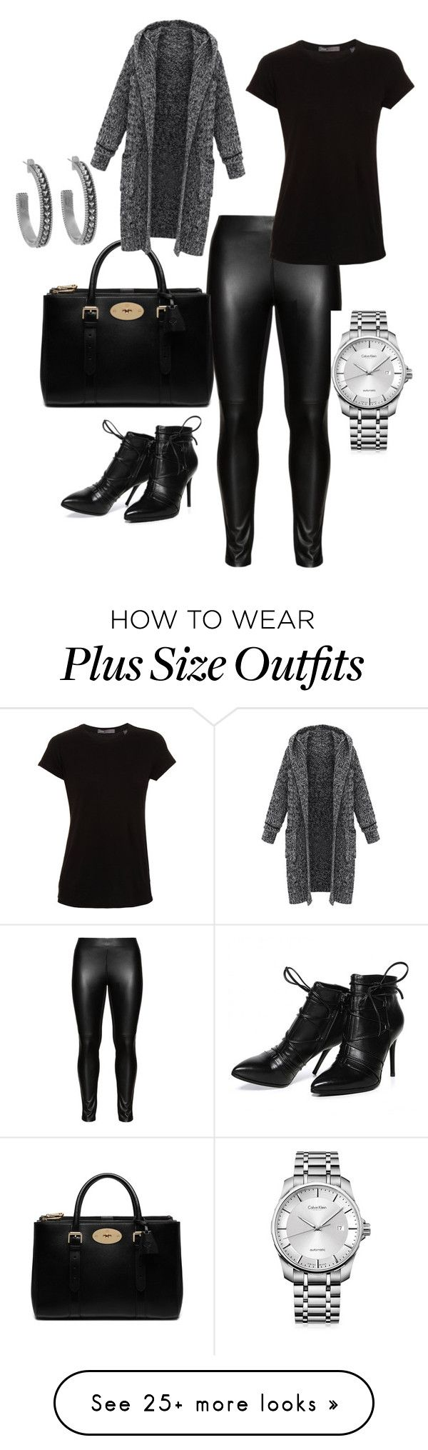 """Untitled #346"" by stylemirror on Polyvore featuring Studio, Mulberry, Calvin Klein, Vince, Morea and House of Harlow 1960"