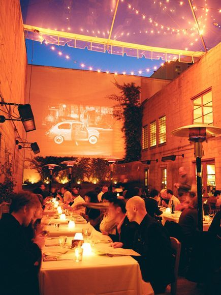 Foreign Cinema SF - One of the best spots in the city for dinner