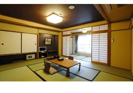 Ryokan- Traditional Japanese style guest room