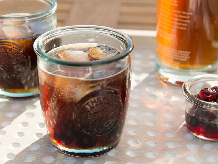 Cherry Cola Rum Cocktail recipe from Patricia Heaton Parties via Food Network
