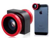 3 Fonksiyonlu iPhone 5 Kamera Lensi Fotoğraf çekmeyi seviyorsunuz ama gittiğiniz her yere bir fotoğraf makinesi taşımak zor geliyor, telefonla çektiğiniz resimlerin de kalitesini yeterli bulmuyor musunuz? Bu 3 fonksiyonlu lens ile iPhone 5'inizi kolaylıkla fotoğraf makinası kalitesinde fotoğraflar çekecek hale getirebilirsiniz.  Fonksiyonları: Balık gözü objektif, makro objektif, geniş açı lens http://cokhos.com/products/3-fonksiyonlu-iphone-5-kamera-lensi