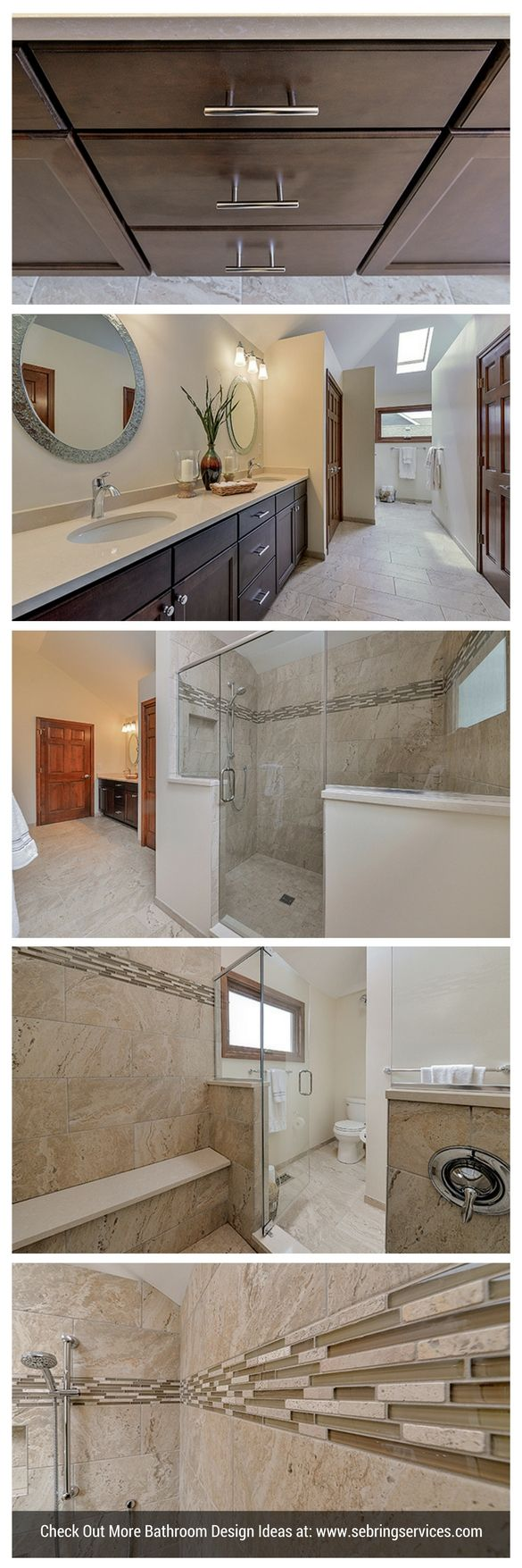 Transitional Master Bath Remodel Project
