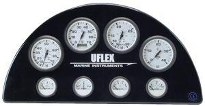 En oferta Reloj Voltimetro 10-16, 12V Blanco UFLEX  53 mm